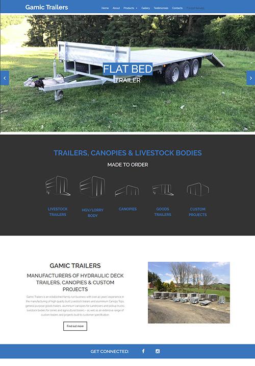 Gamic Trailers Design & Development