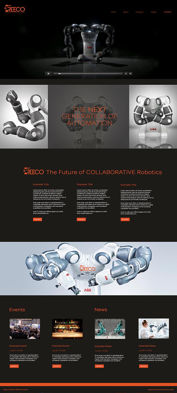 Reeco Website Design & Development