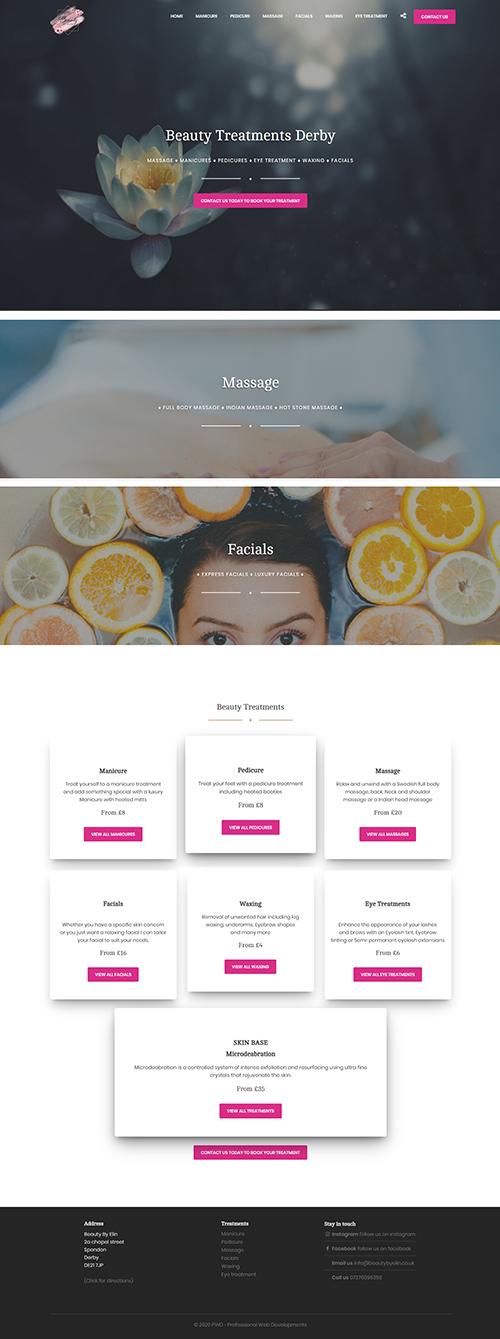 Beauty By Elin Design & Development
