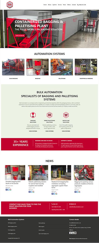 Bbulk Automationd Llanidloes website