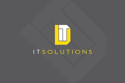 D-IT Services Logo Design